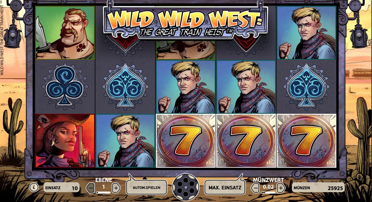 Wild wild west spielautomaten